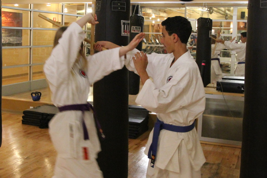 Teen martial arts training san diego: Escrima-sticks