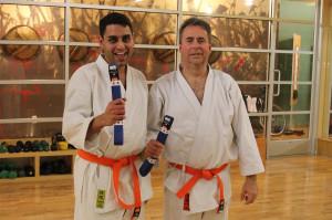 Karate Blue Belts