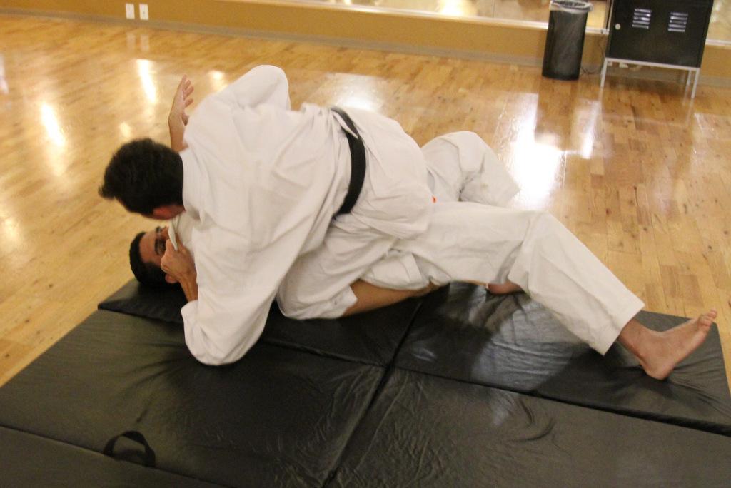 Jiujitsu Ground Fighting
