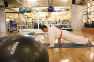 martial arts bootcamp -- getting strong while learning self defense