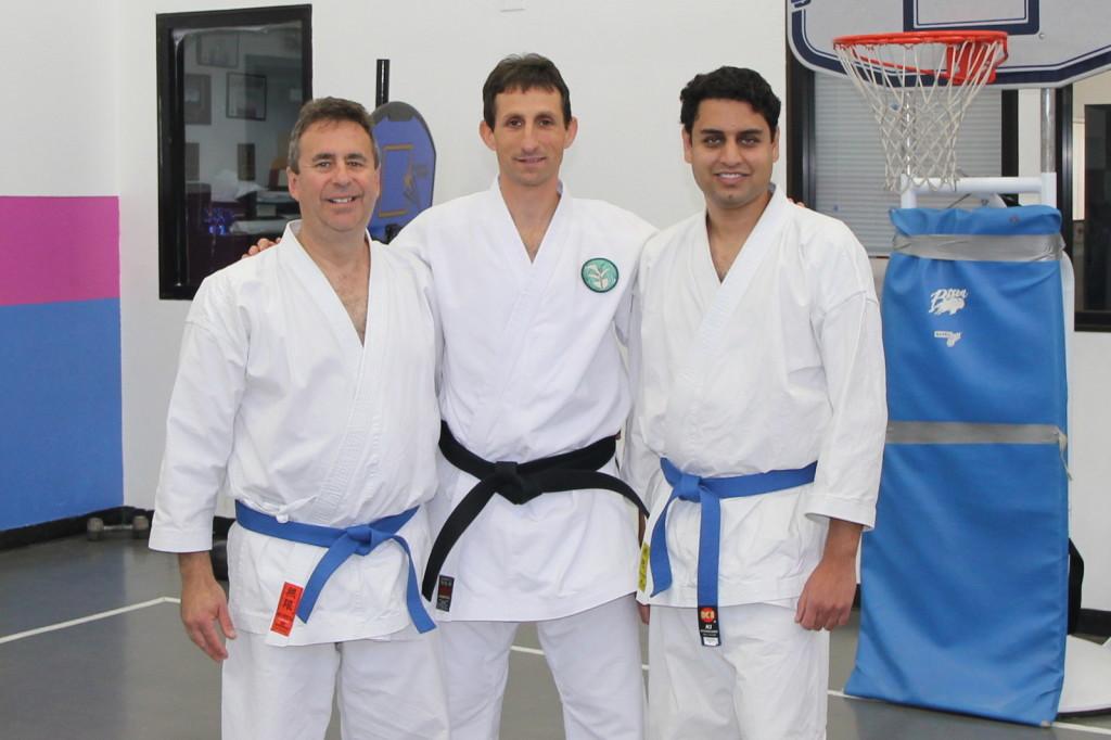 New belts Carmel Valley dojo, San Diego, CA 92130