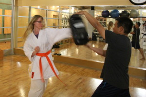 Okinawan slap self defense technique