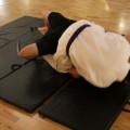 Brazilian Jiu Jitsu (BJJ) Choke Release -- intermediate step