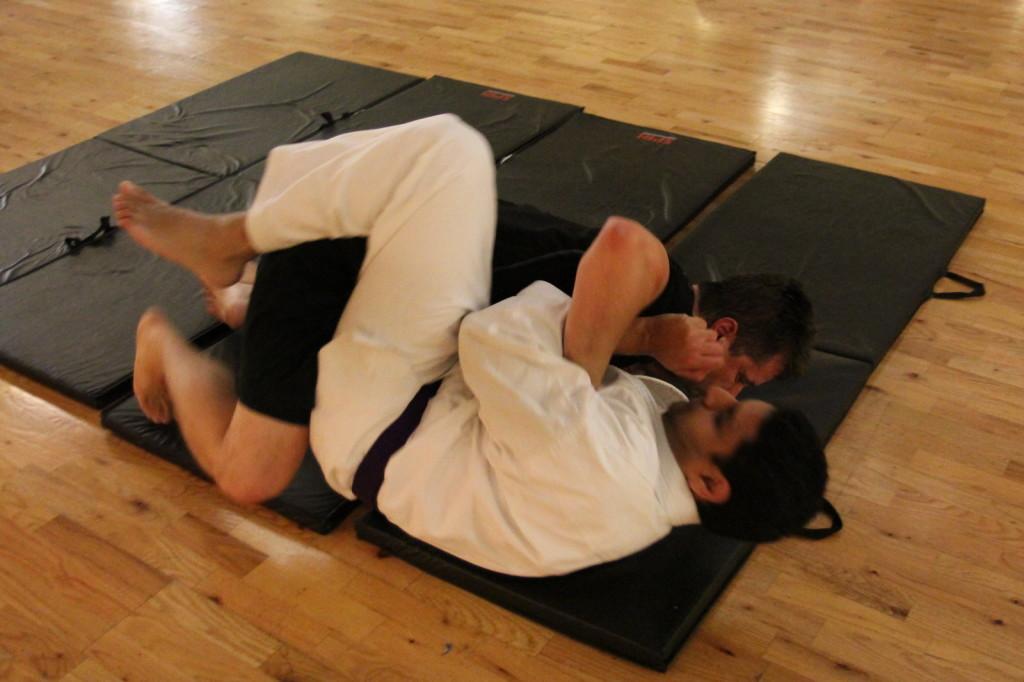 Brazilian Jiu Jitsu (BJJ) Choke Release -- finish