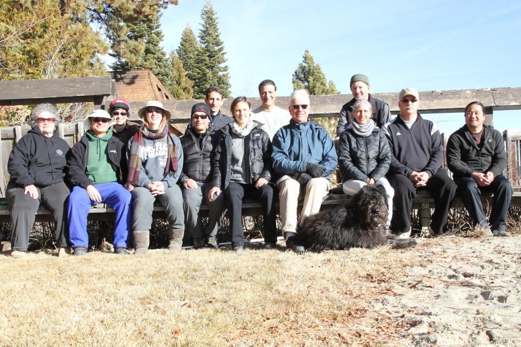 Martial Arts camp -- Lake Tahoe, January 2014