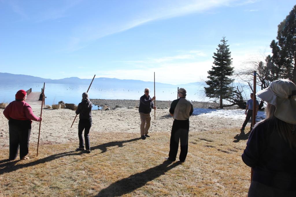 Bo staff martial arts weapon training