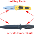 Training knives for practicing knife self defense