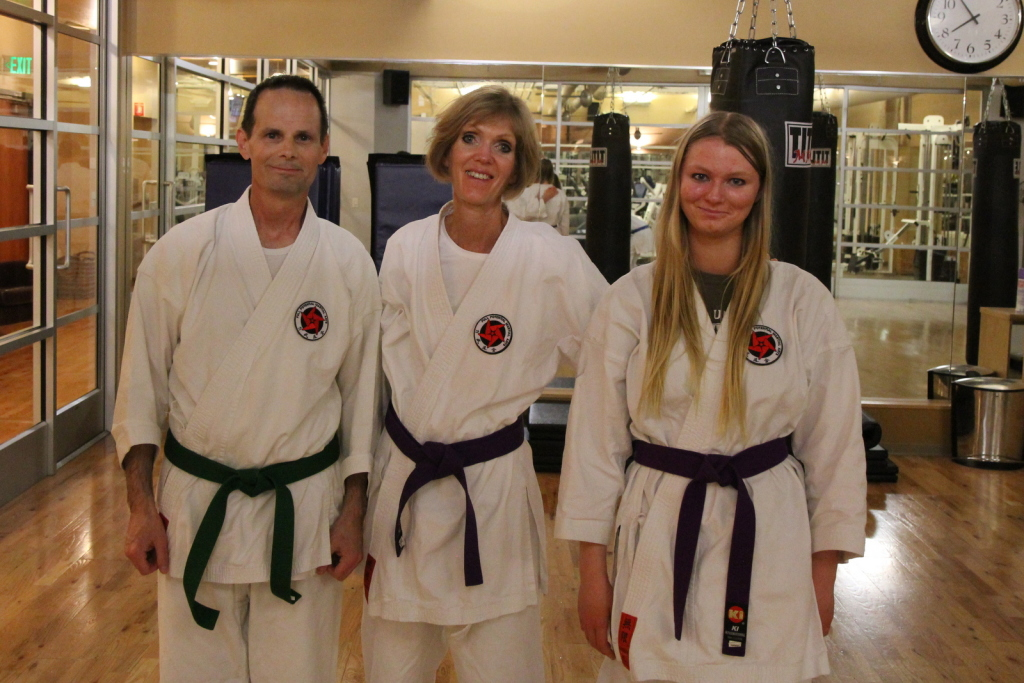 Ken-Lisa-Cassie-New-Karate-Belt-Rank