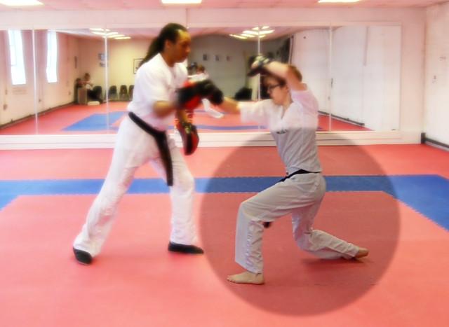 karate-pad-work-compromised-form